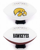 Iowa Hawkeyes Full Size Embroidered Football