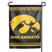 """Iowa Hawkeyes 11""""x15"""" Garden Flag"""