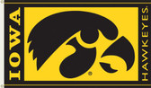 Iowa Hawkeyes   3 Ft. x 5 Ft. Flag w/Grommets