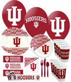 Indiana Hoosiers Party Supplies Pack #3