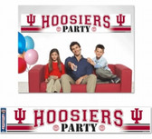 Indiana Hoosiers Party Banner