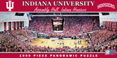 Indiana Hoosiers Basketball Panoramic Stadium Puzzle