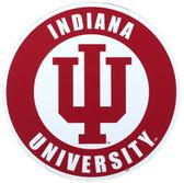 """Indiana Hoosiers 12"""" 'IU' Car Magnet"""