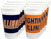 Illinois Fighting Illini 20 oz. Cups