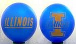 """Illinois Fighting Illini 11"""" Balloons"""