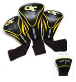 Georgia Tech Yellow Jackets 3 Pack Contour Sock Headcovers