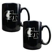 Georgia Tech Yellow Jackets 2pc Coffee Mug Set
