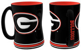 Georgia Bulldogs Coffee Mug - 15oz Sculpted