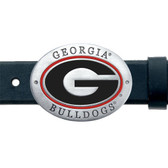 Georgia Bulldogs Belt Buckle