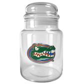 Florida Gators 31oz Glass Candy Jar - Primary Logo