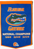"Florida Gators 24""x36"" Wool Dynasty Banner"