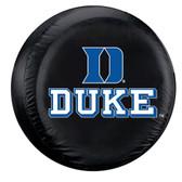 Duke Blue Devils Black Spare Tire Cover
