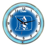 "Duke Blue Devils 18"" Neon Wall Clock"