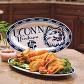 Connecticut Huskies Ceramic Plate