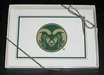 Colorado State Rams Note Cards