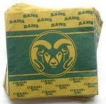 Colorado State Rams Lunch Napkins