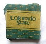 Colorado State Rams Beverage Napkins