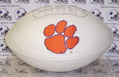 "Clemson Tigers Embroidered Logo ""Signature Series"" Football"