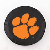 Clemson Tigers Black Tire Cover, Large
