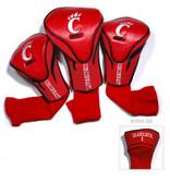 Cincinnati Bearcats 3 Pack Contour Sock Headcovers