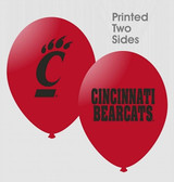 "Cincinnati Bearcats 11"" Latex Balloons"