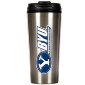 Brigham Young Cougars Slim Stainless Steel Travel Tumbler