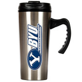 Brigham Young Cougars Slim Stainless Steel Travel Mug