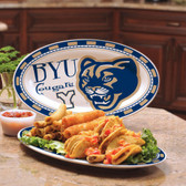 Brigham Young Cougars Ceramic Plate