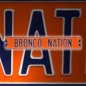 Boise State Broncos Bronco Nation Street Sign