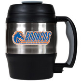 Boise State Broncos 52oz. Stainless Steel Macho Travel Mug with Bottle Opener
