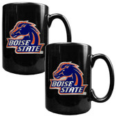 Boise State Broncos 2pc Coffee Mug Set