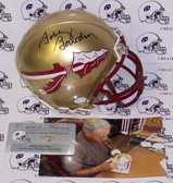 Bobby Bowden Signed Florida State Seminoles Mini Helmet