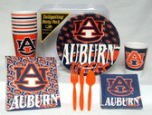 Auburn Tigers Party Supplies Pack #1