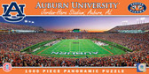 Auburn Tigers Panoramic Stadium Puzzle