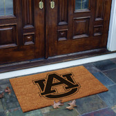 Auburn Tigers Flocked Door Mat