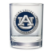 Auburn Tigers Double Old Fashioned Glass Set