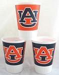Auburn Tigers 16 oz Cups