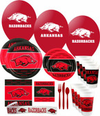 Arkansas Razorbacks Party Supplies Pack #3