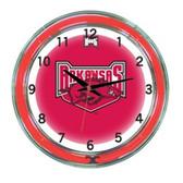 "Arkansas Razorbacks 18"" Neon Wall Clock"