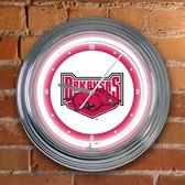 """Arkansas Razorbacks 15"""" Neon Clock"""