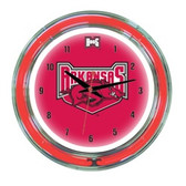 "Arkansas Razorbacks 14"" Neon Wall Clock"