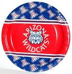 "Arizona Wildcats 9"" Dinner Paper Plates"