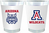 Arizona Wildcats 10 oz. Frosted Cups