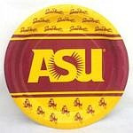 "Arizona State Sun Devils 9"" Dinner Paper Plates"