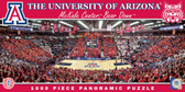Arizona Basketball Panoramic Stadium Puzzle