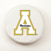 Appalachian State Mountaineers White Tire Cover, Large