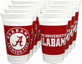 Alabama Crimson Tide 16 oz. Cups