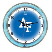 "Air Force Falcons 18"" Neon Wall Clock"