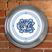 "North Carolina Tar Heels 15"" Neon Clock"