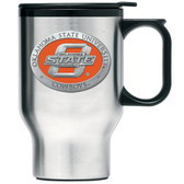 Oklahoma State Cowboys Stainless Steel Travel Mug
